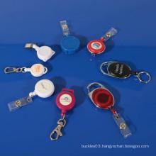 Fashionable plastic nurse badge pull reel