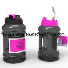 2016 umweltfreundliche Sport-Kartenhalter-Wasser-Flasche 2.2L große Kapazität