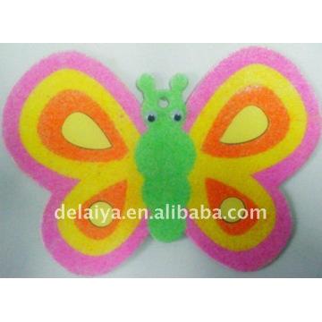dibujo de arena mariposa