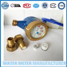 Medidor de Agua Potable Fría Clase B Dn15mm