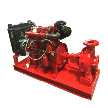 Booster water supply jockey fire pump set