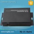 2 canaux pots (rj11) ligne téléphonique sur le convertisseur de fibre de câble au convertisseur de téléphone