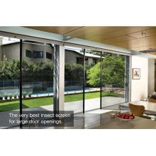 Puerta de apertura grande Retractable Insect Screens