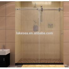 Modern Interior Stainless Steel Glass bathroom Hardware for Glass doors