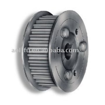 T10 aluminium timing pulley