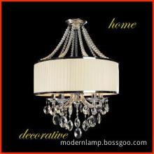 luxury crystal pendant lamp