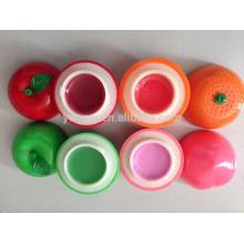 Популярные увлажняющий Apple бальзам для губ круглые плоды персика оранжевый формы с различным вкусом