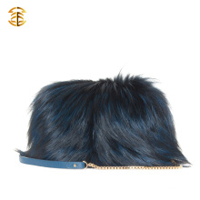 High Quality Fox Fur Bag Shoulder Bag Fashion Ladies Fur Hand Bag