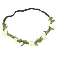 New Design Daisy Flower Headbands pour femmes tressées (HEAD-314)