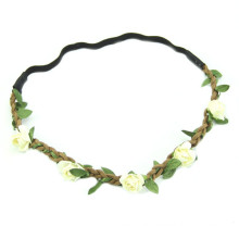 New Design Daisy Flower Headbands for Women Braided (HEAD-314)