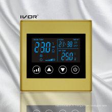 Interrupteur tactile thermostatique à 2 pièces en plastique (SK-AC2300L8-2P-N)