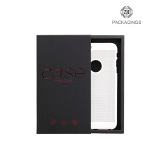 Black drawer mobile phone case packaging