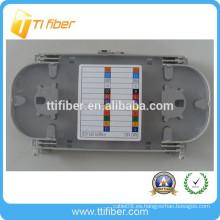 12 núcleos fibra óptica tapa transparente bandeja de empalme competitivo