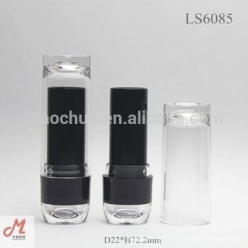 LS6085 bouchon de rouge à lèvres bouchon à lèvres tubes vides, paquet de rouge à lèvres vide