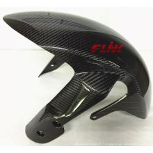 Pièces de fibre de carbone de moto Fender avant pour Suzuki Gsxr1000 05-07 Gsxr600 06+ Gsxr750 06+