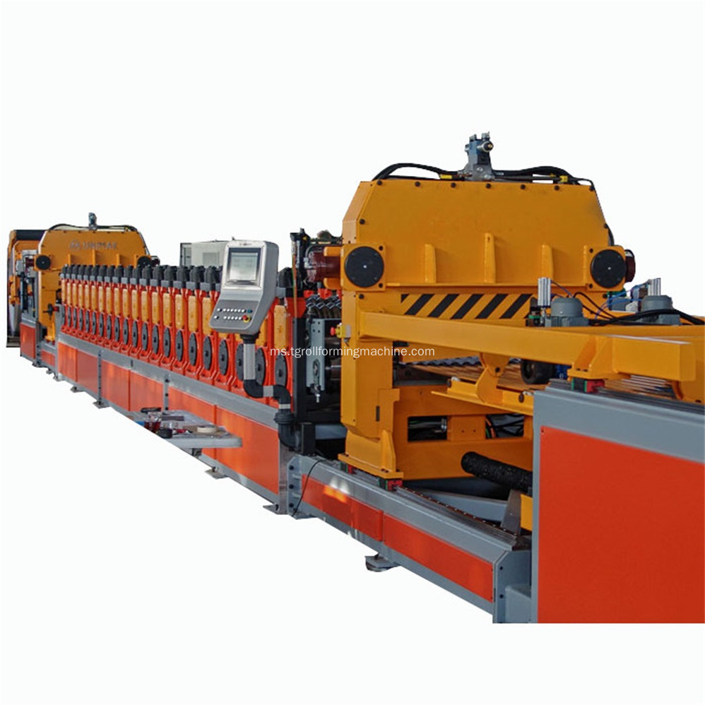 Roller Steel Galvanized Silo Roof Roll Forming Machine