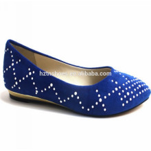 Горячие надувательства 2014 малые женщины клина обувают изящные ботинки ботинка серебра сини балерины