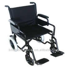 "Push-wheelchair BME4615 12""solid steel wheel chair handicaped"