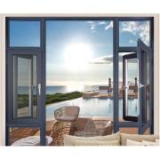 pvc windows bathroom window size