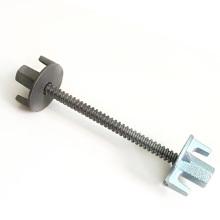 construction concrete steel aluminium plastic formwork system tie rod wing nut