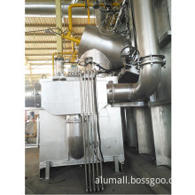 10 Metric Tonnes Easy Operation Melting And Holding Furnace For Aluminium Casthouse