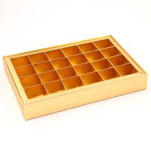 Caixa de presente de categoria alimentar para embalagem de chocolate