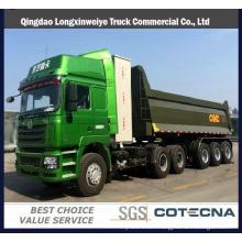 Tri-Axles Heavy Duty Dump Truck Semi Trailer Front Tipper Trailer