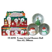 X-Mas Crystal Bounce Ball