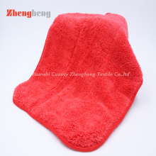 1000% Microfiber Coral Fleece Towel with Polyester