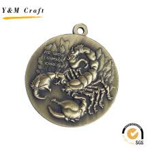Promoção Customzied Medalha com Alta Qualidade (Q09543)