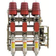 Combinación unidad Hv interruptores con conexión a tierra interruptor de fusibles