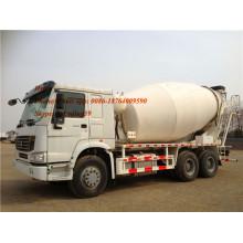 HOWO 6x4 10-14m3 Self-loading Concrete Mixer Truck