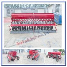 Traktor montiert Wheat Planter mit Reifen