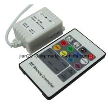 RF 20-Key controlador de tira LED simples (JA-CON-RF20B (J) -3CH-LV)