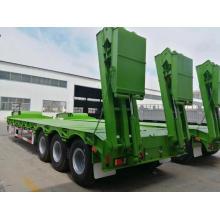 60 Ton Lowbed Semi Trailer Truck