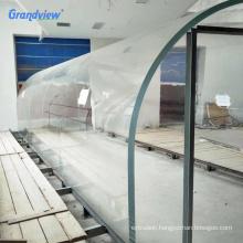 Large Round glossy thick transparent acrylic sheet cylinder aquarium