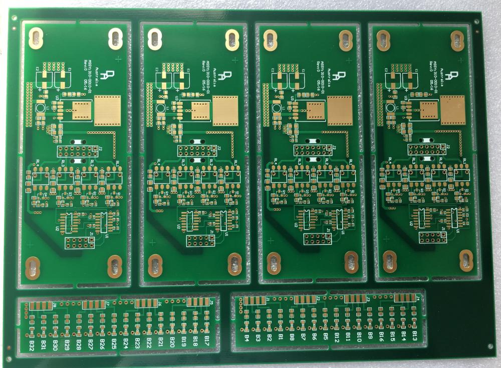 2 different designs PCB in one Panels