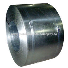 Galvanized steel band, width of 20 to 700mm and grade DX51D, Q195, Q235, 08Al and SPHC