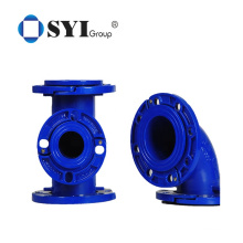 Ductile Iron Loosing Flange Pipe Fittings for Double Flanged Taper