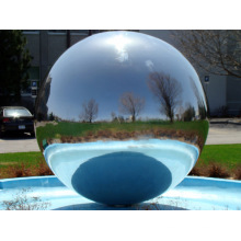 stainless steel moving water fountain sculpture VSSSP-027A
