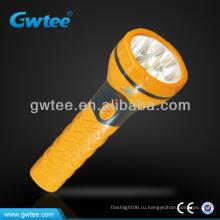 Ежедневный использовать конус многоцветный светодиодный фонарик GT-8173