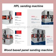 Lijadora de mdf / lijadora de panel a base de madera / máquina de lijado HPL