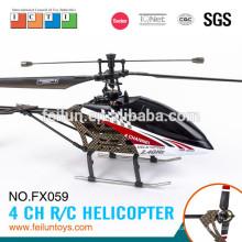 2.4 lâmina única de G 4CH R/C helicóptero com giroscópio propelir certificado de CE/FCC/ASTM peças helicóptero rc