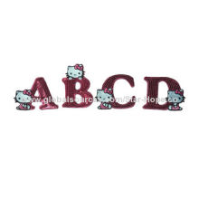 2014 hello-kitty letter sequin embroidered patches for cloth, OEM is welcome