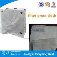Paño de prensa de poliéster de tratamiento de aguas residuales de alta calidad