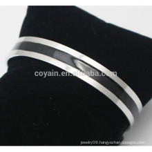 Cheap Custom Made Stainless Steel Enamel Cuff Bracelet