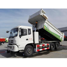 strong pure electric dump truck
