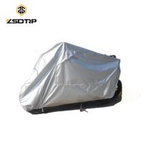 nombreuses protections moto imperméables et anti-UV de taille