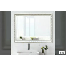 Rectangle 60*80cm customized large size polystyrene frame silver mirror wall mounted