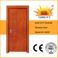 China Best Sell Furnier Massivholztür (SC-W057)